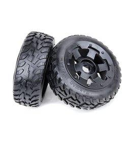 Rovan Tarmac Buster II 5B new front road tyres set 170x60