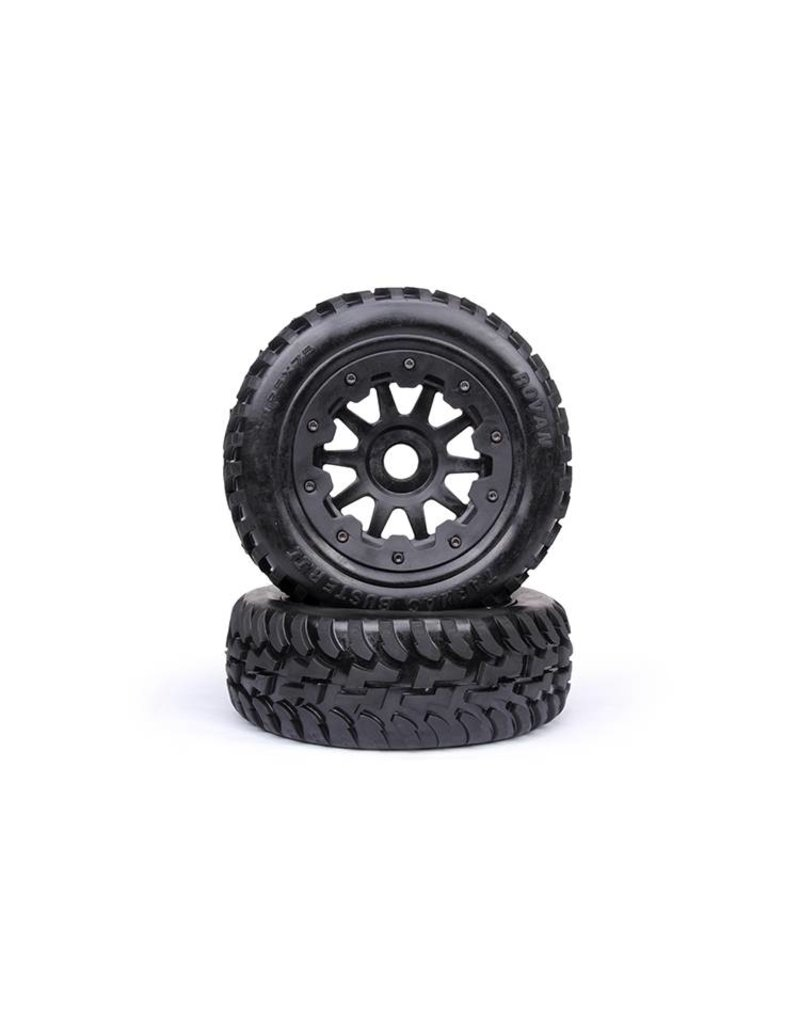 Rovan Sports 5T/5SC Front wheel on road tire (2pc)Tarmac Buster 11 195x75