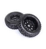 Rovan 5T/5SC Front wheel on road tire (2pc)Tarmac Buster 11 195x75