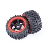 Rovan Sports 5B 4th Gravel Tires Rear 170x80 2 pcs