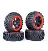 Rovan 5B 4th Gravel Tires Front Gravel 170x60