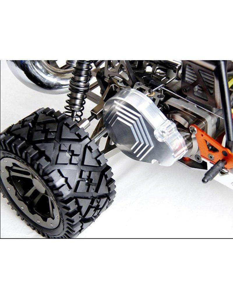 Rovan CNC Alloy gear cover set