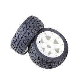 Rovan Sports Tarmac Buster 5B Front road tyres set with nylon hub 170x60 (2pcs.)