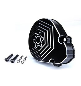 Rovan CNC Black White Gear Cover