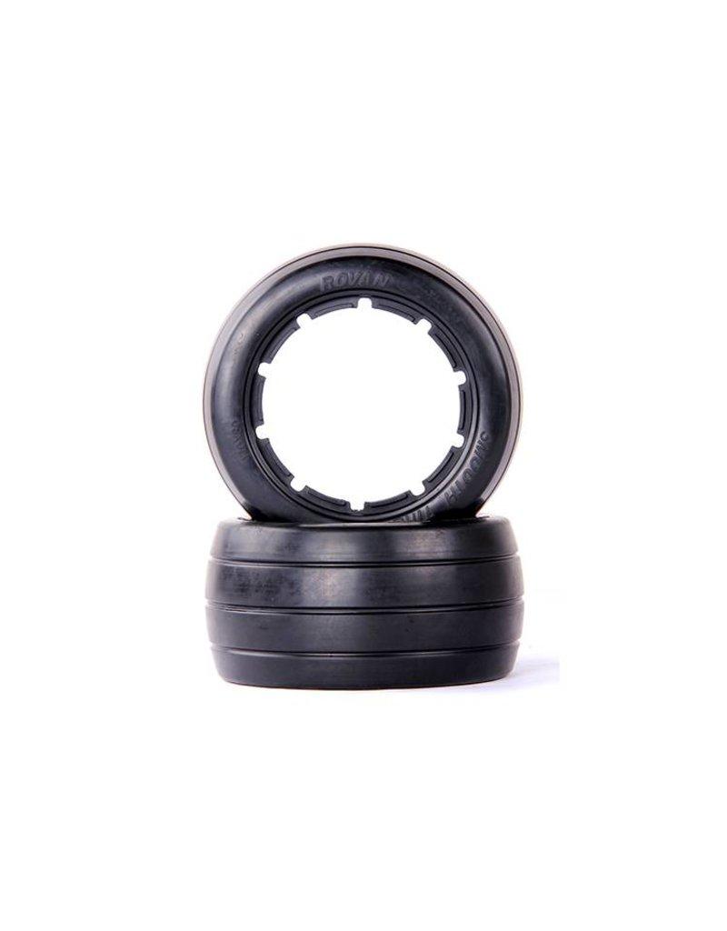 Rovan 5B rear slick tyres skin without inner foam