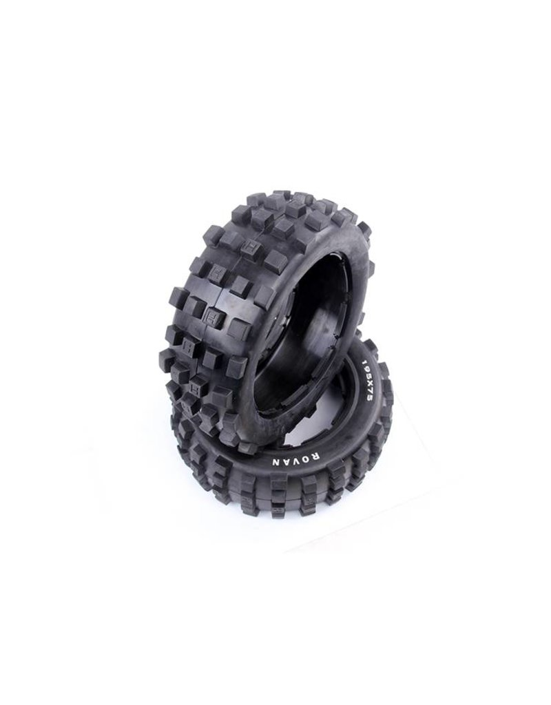 Rovan Sports 5T/5SC front Spike tire general leather 195x75