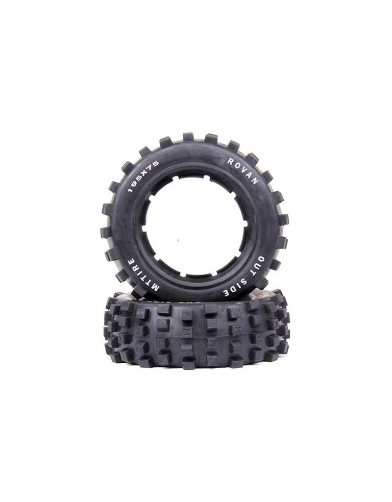 Rovan 5T/5SC front Spike tire general leather 195x75