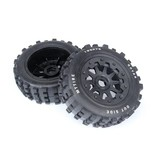 Rovan 5T/5SC knobby wheel set  (2pcs) 195x75 / MT Tire