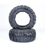Rovan Sports 5T/SC Knobby tire set rear (2pcs) Excavotor 80x195