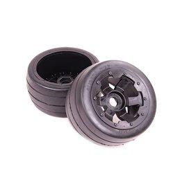 Rovan Sports 5B rear slick tyres set 170 x80 (2pc)