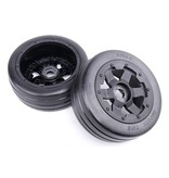 Rovan Sports 5B front slick tyres set 2pcs Smooth Tire slicks 170x60