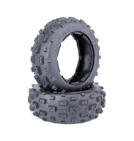 Rovan New front knobby tire set 170x80mm (2pcs/set excluding the upgraded inner foam) (2pc)