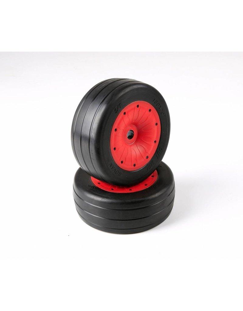 RovanLosi  LT / Losi 5T sealed beadlocks slick tires (also fit for BAHA 4WD/SLT) 180x70 (2pcs)