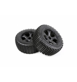 RovanLosi Sealed beadlocks small nails tire (black) 180x70 2pcs