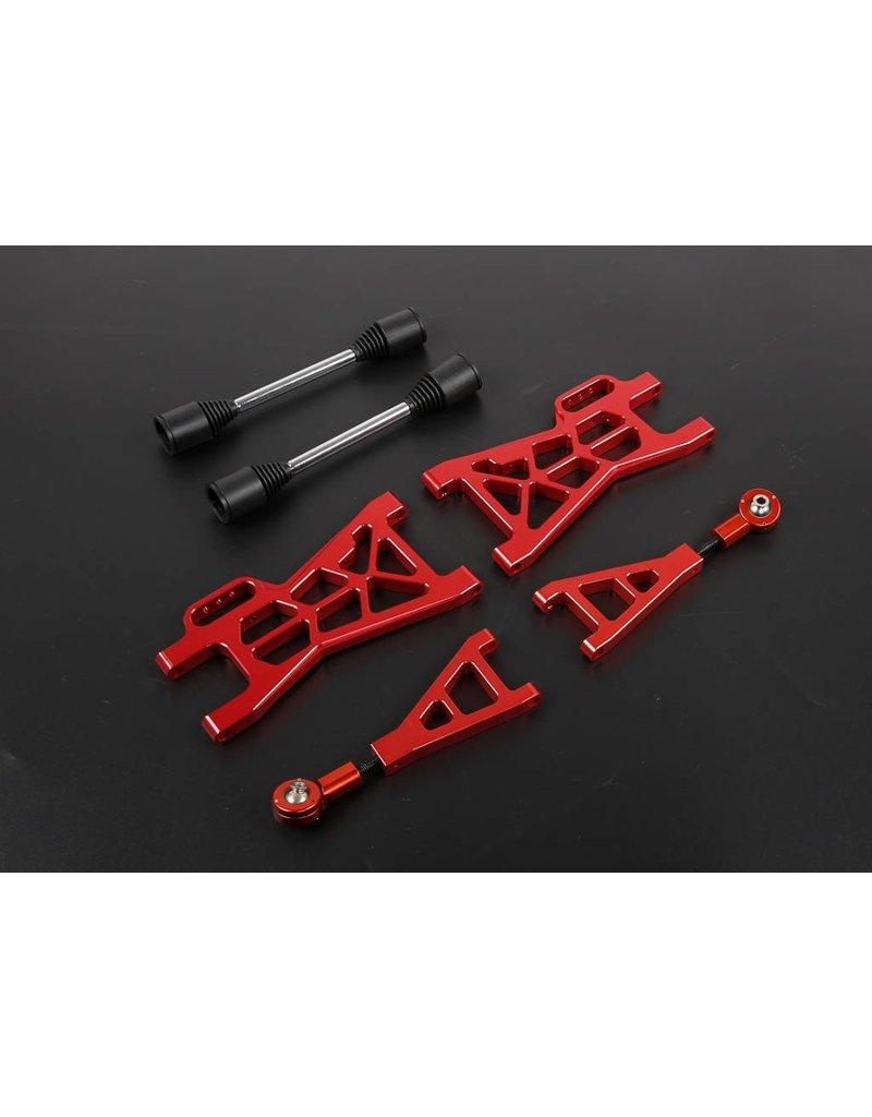 Rovan Sports Nieuw type CNC aluminium draagarmen achterzijde set voor baha
