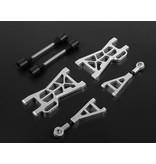 Rovan Nieuw type CNC aluminium draagarmen achterzijde set voor baha