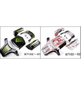RovanLosi Losi body set in two different colors