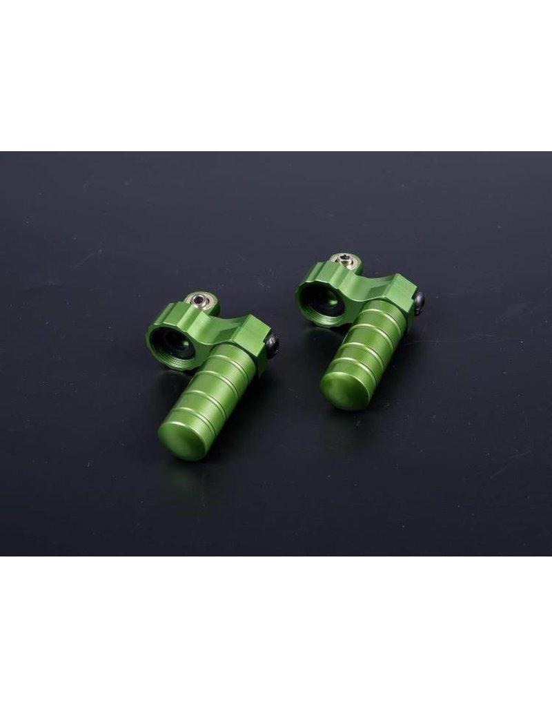 Rovan Alloy rear shock cap  / schockdemperkop met buffer/overloopvat achter