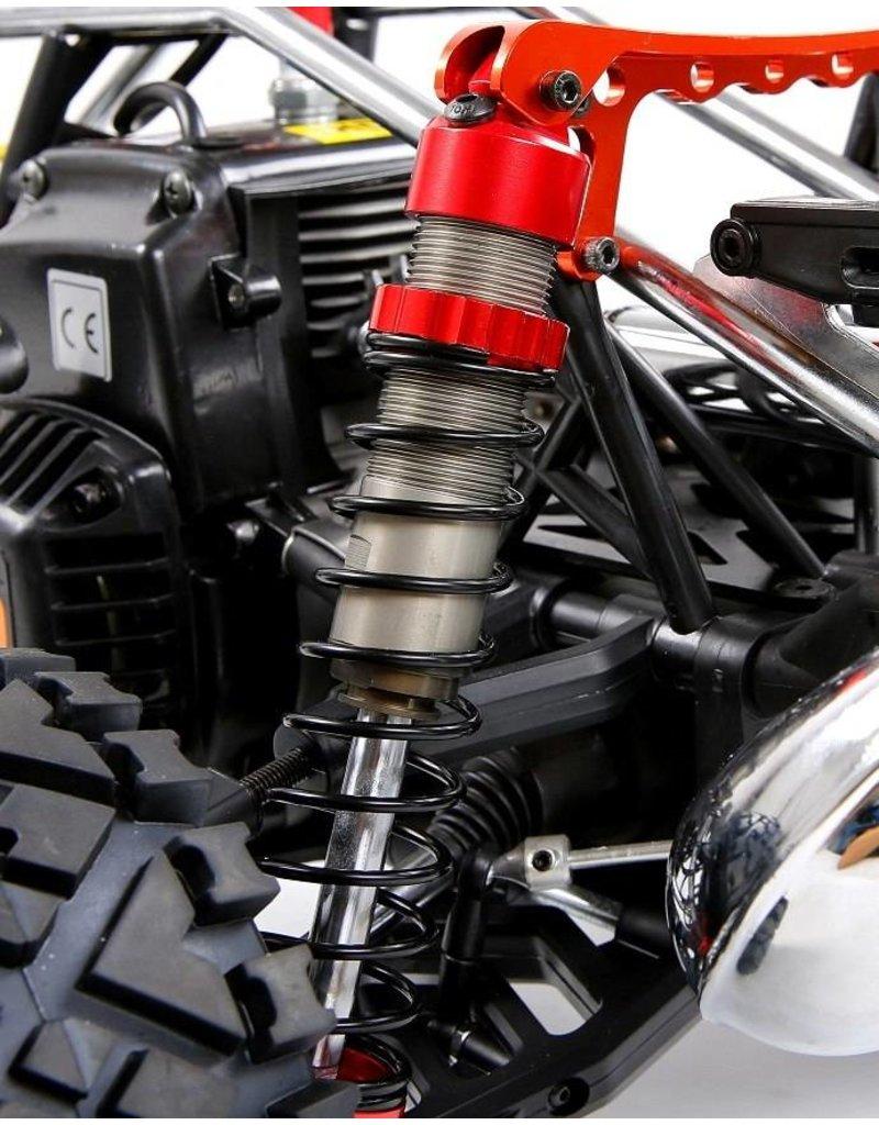 Rovan Sports BAHA CNC HD 10mm schokbrekers voorzijde (2 st.) in rood, zilver of titanium