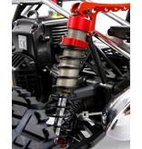 Rovan Sports Baha CNC HD 10 mm achter schokbreker (2st.) in rood, zilver of titanium