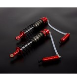 Rovan Sports  Baha CNC HD 10mm rear shock with hydraulic shock buffle  in red or silver