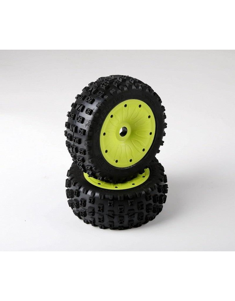 RovanLosi  LT sealed beadlocks Gen. 3 knobby tires (also fit for BAHA 4WD/SLT)