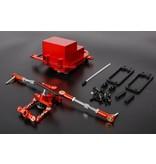 Rovan  Baja CNC-Gerätedose für symmetrische Lenkungssätze