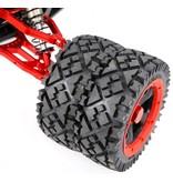 Rovan Sports Baha dubbele voor wiel as (hard geanodiseerd)