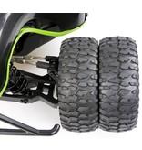 Rovan Sports LT dubbele wiel as (hard geanodiseerd)
