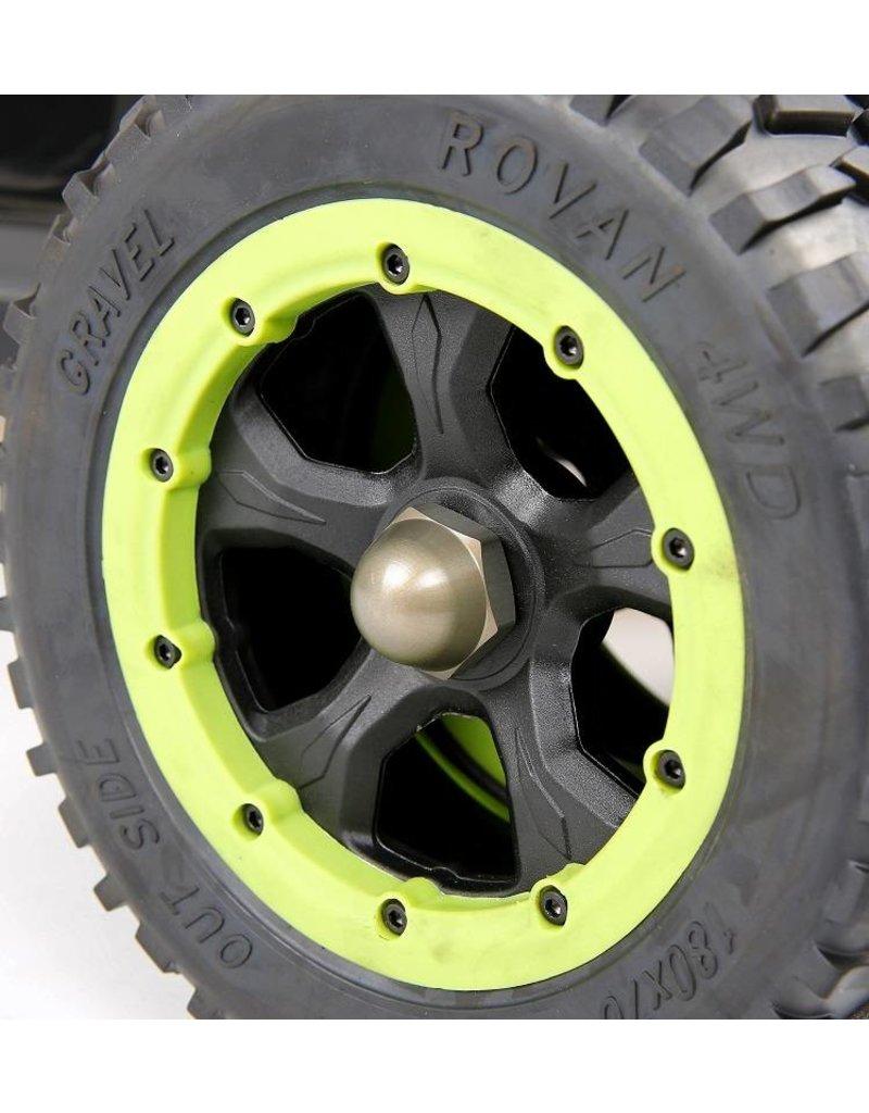 Rovan Sports LT wiel doppen (hard geanodiseerd) nieuwe stijl