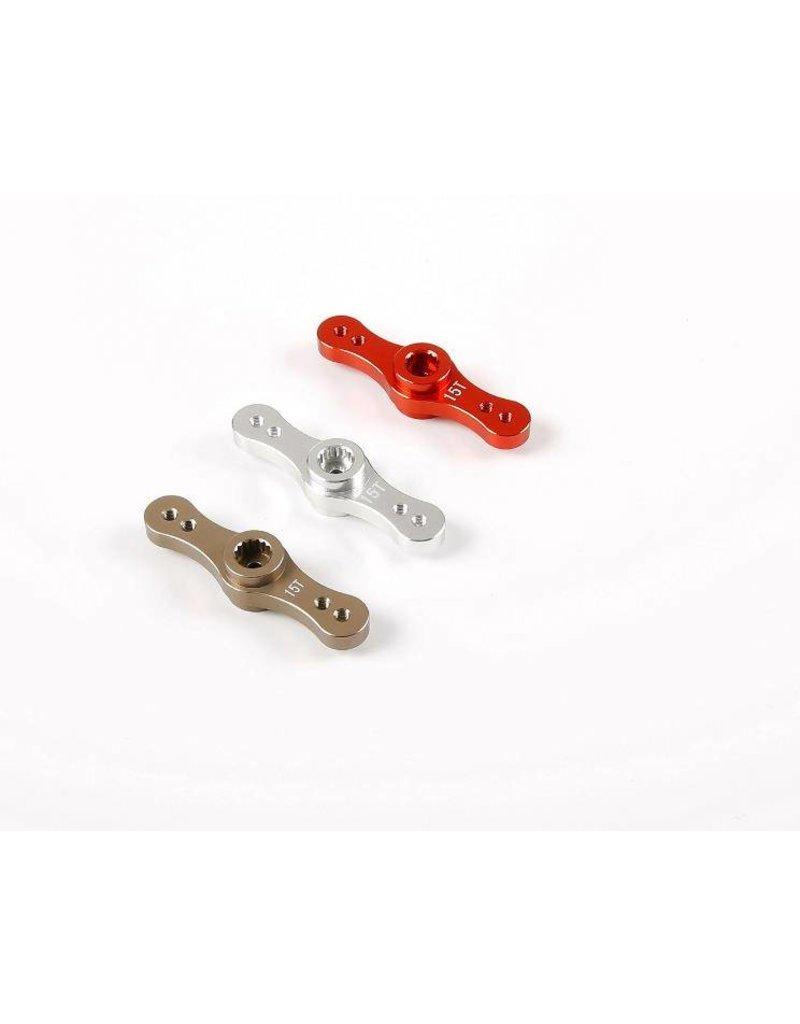 Rovan CNC metaal tweezijdige stuur arm voor symmetrische sturing (15T/17T)