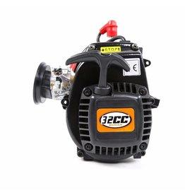 Rovan Sports LT 32CC 4-Bolzen Motor mit Easy-Starter (komplett mit Vergaser und Zündkerze)