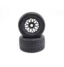 Rovan 5B / F5 Thickened rear tyres set Tarmac Buster 170x80 (2pc)