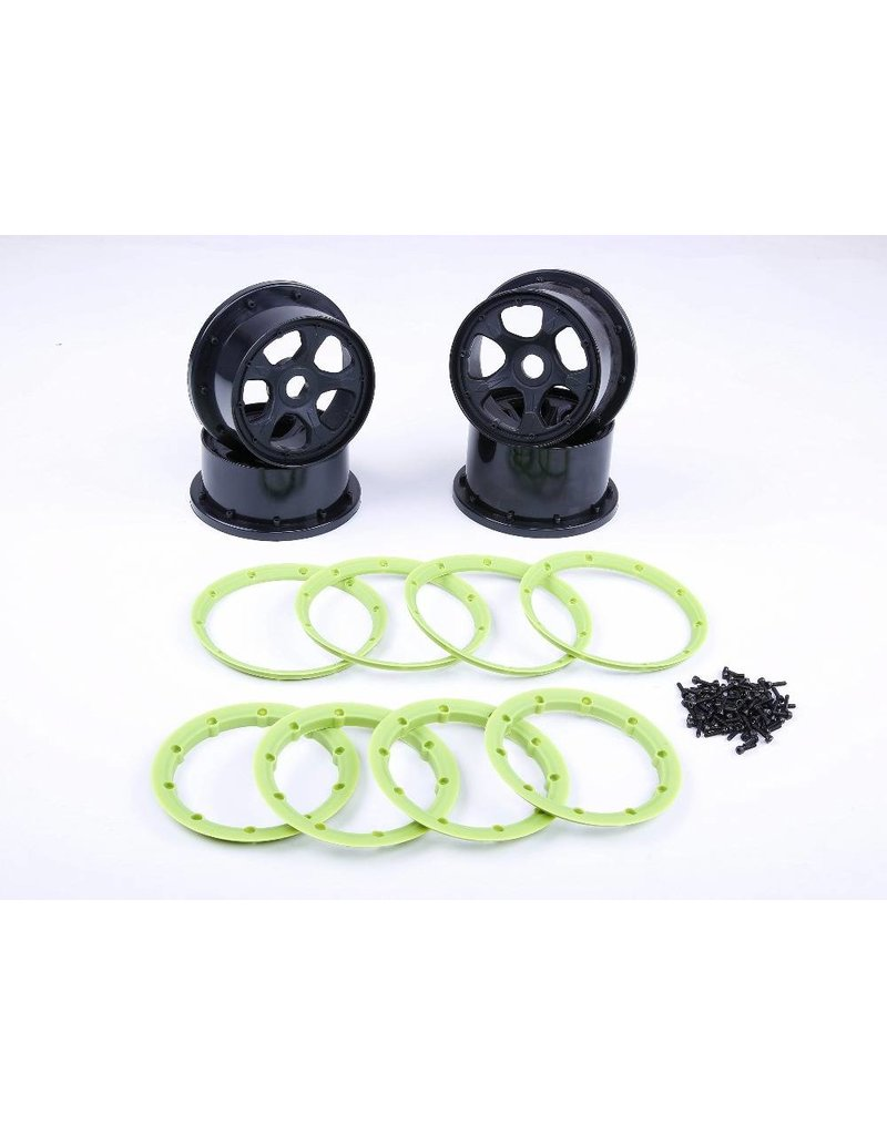 Rovan Sports 5B 4th wheel with beadlocks kits