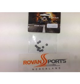 Rovan Sports Parts for 85089 hydraulic front brake set - small rubber rings (10pcs.) 5mm outside dim.