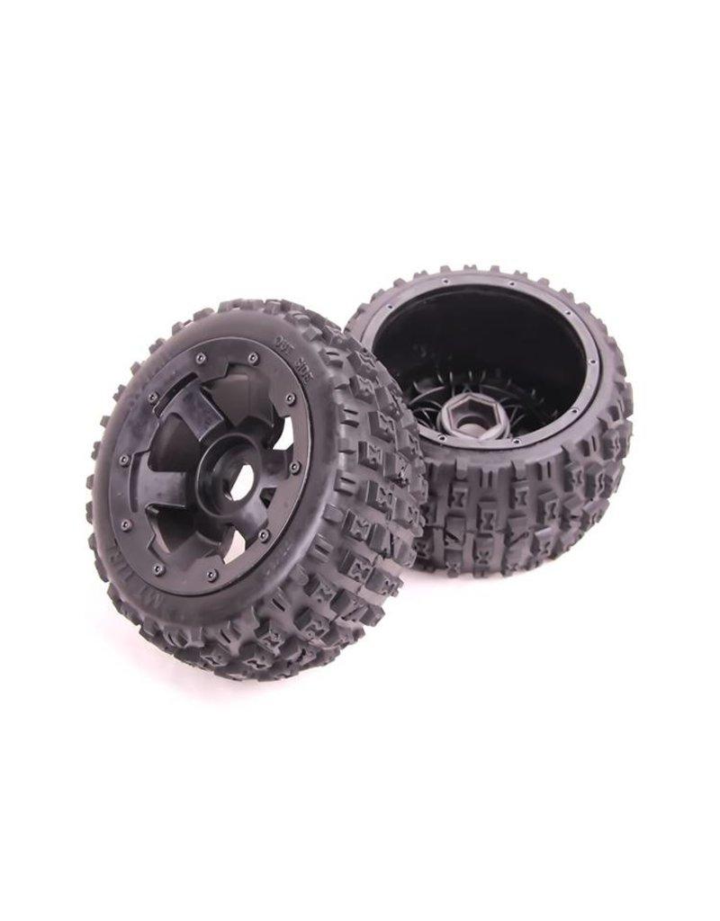 Rovan New rear knobby wheel set (2pc) 170x80