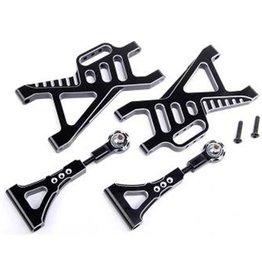 Rovan CNC Black/white rear suspension arm se