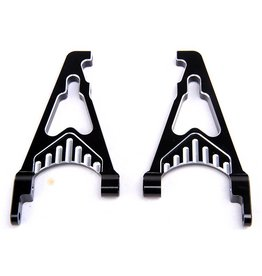 Rovan Sports CNC Black/white rear shock absorb support