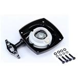 Rovan CNC Black/white pull starter / trek starter (inner turbo)
