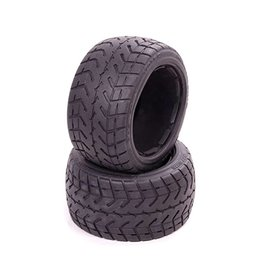 Rovan Rear highway tire set (zonder inner foam) Tarmac Buster 170x80