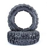 Rovan Sports 5T/SC Knobby tire set front Excavator 75x195 (2pcs)