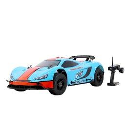 Rovan Sports Rovan ROFUN F5 1/5 2.4G 4WD Drift RC Auto 36cc Benzine Motor On-road - Blauw