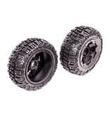 Rovan 5T Knobby wheel tire set (front) 2pcs Excavator 75x195