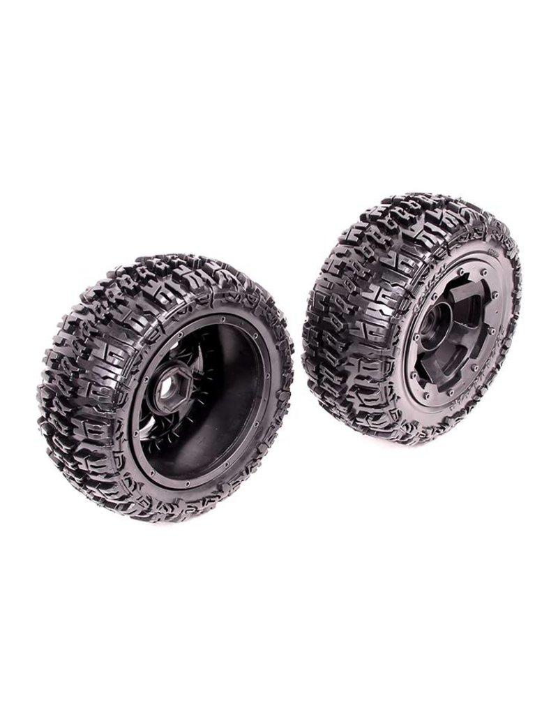 Rovan Sports 5T Knobby wheel tire set (front) 2pcs Excavator 75x195