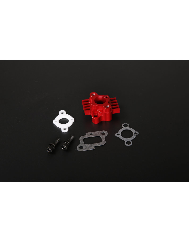Rovan Sports  CNC Metal intake (32cc/36cc/45cc)  CNC inlaatspruitstuk