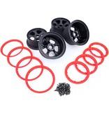 Rovan 5B 4th wheel with beadlocks kits