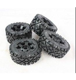 Rovan Sports 5B Whole set of terrian tyres AIT 4pcs 170x60+170x80