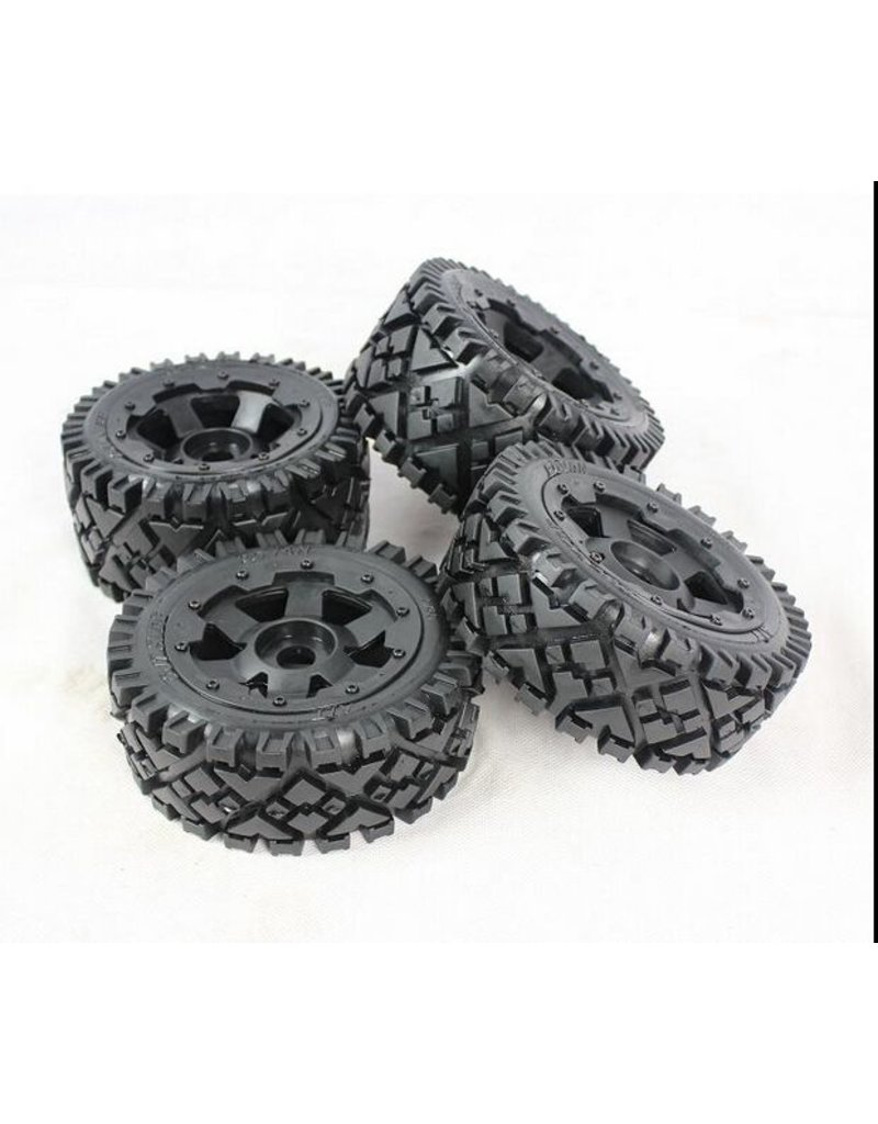 Rovan 5B Whole set of terrian tyres AIT 4pcs 170x60+170x80