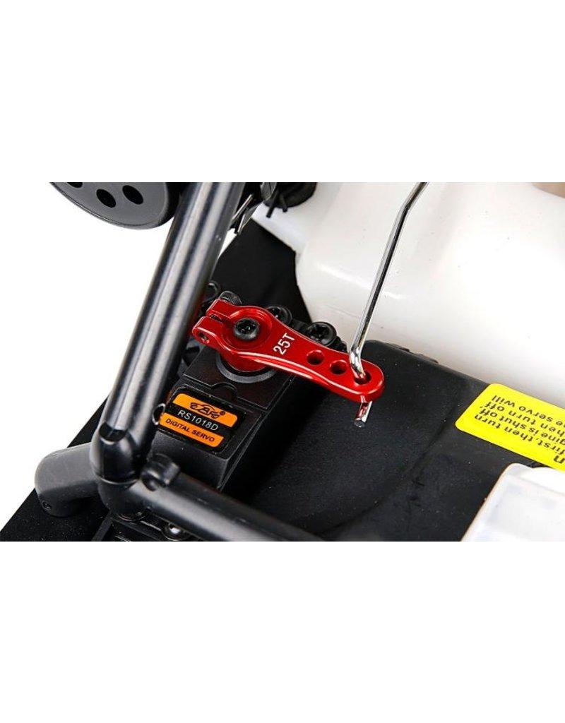 Rovan Baha CNC Metal 25T Gas- rem servohendel  / 25T Throttle Brake Steering Arm