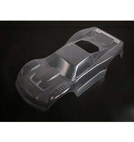 Rovan PC 5T clear body (without body clips) + Aufkleber